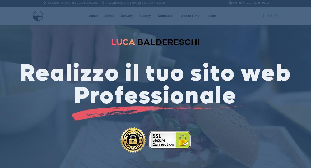 Realizzo il tuo sito web professionale secondo le tue esigenze
